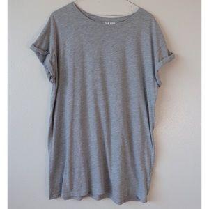 Divided Grey T-Shirt Dress